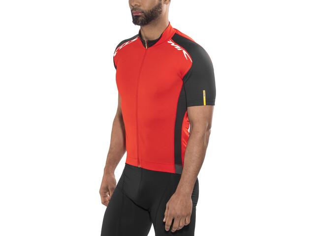 Mavic Cosmic Elite Kortærmet cykeltrøje Herrer rød | Jerseys